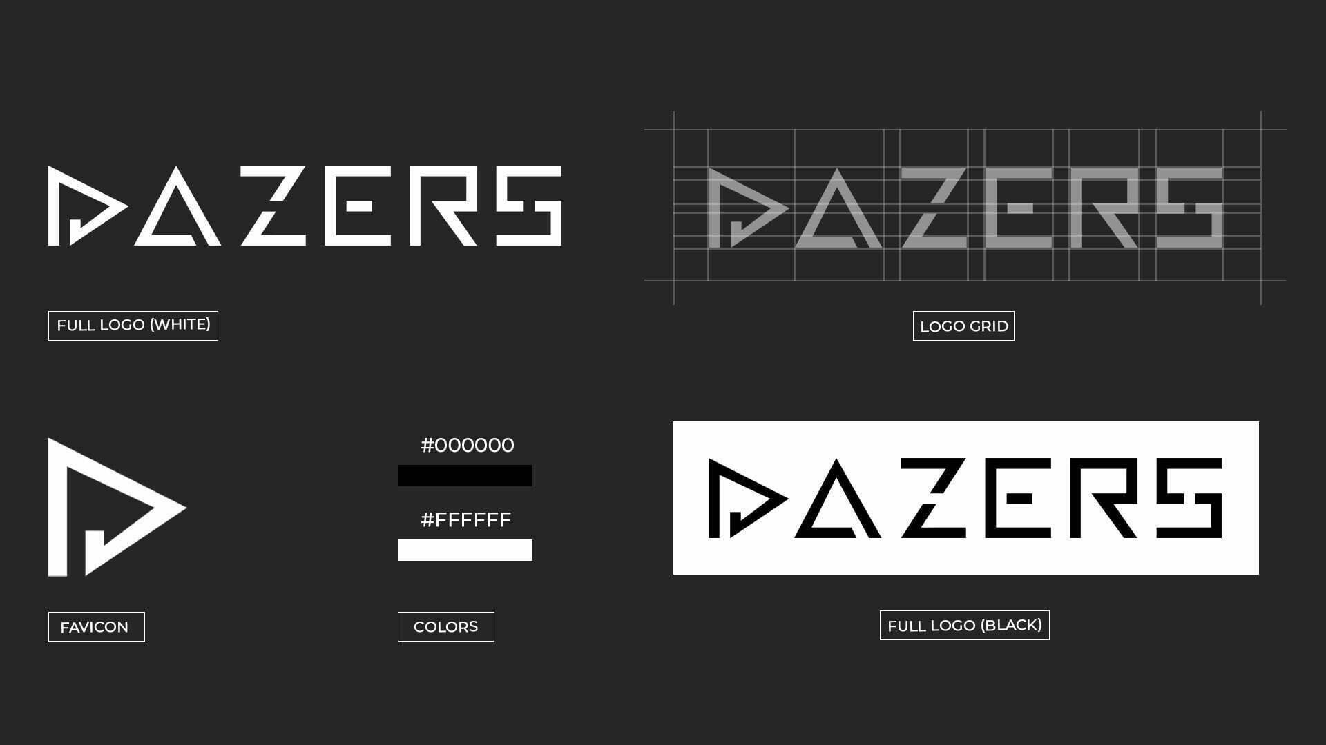 Pixelwish, Design, Dazers, Logo, Structure