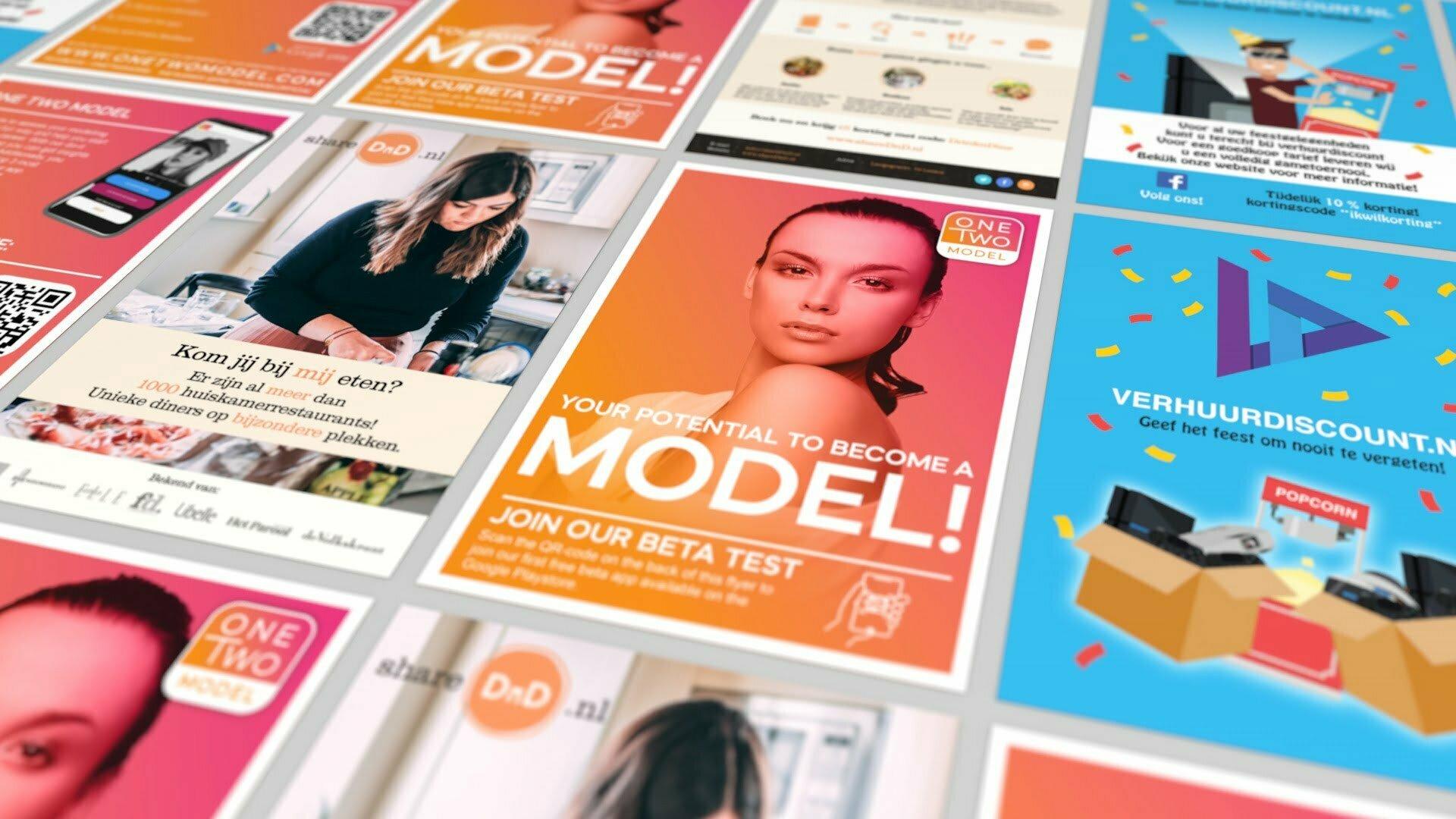 Pixelwish, Design, Flyers, Posters, Portfolio, Projecten, Laten maken, Grafisch ontwerp, Zoetermeer