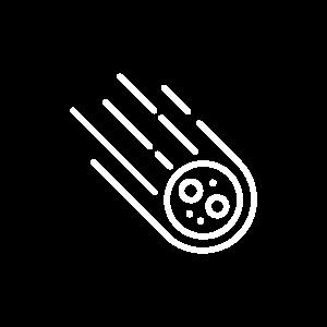 Pixelwish, Impact, Meteoriet, icoon, Icon