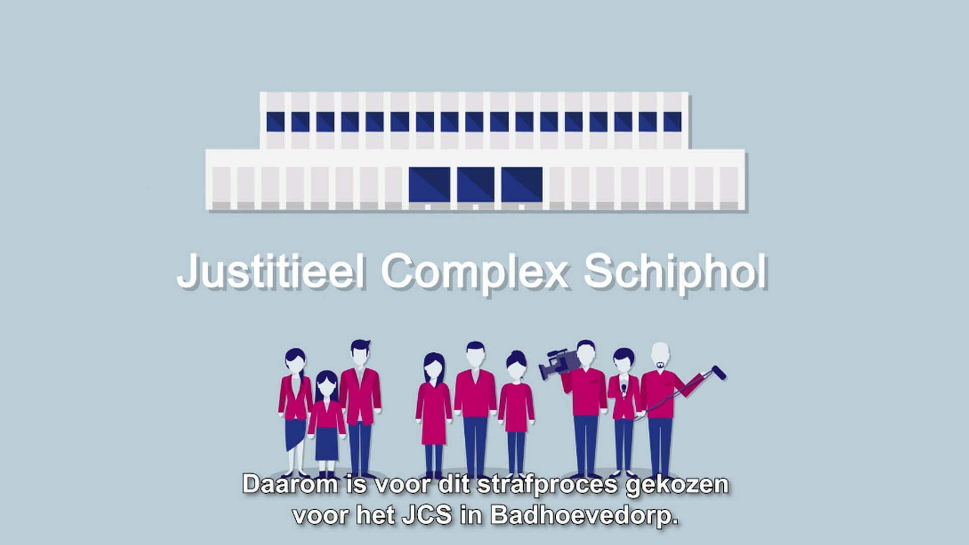 Pixelwish, Design, Projecten, MH17, MH17 Mediabriefing, Court, Uitleganimatie, Rechtzaal, Rechtspraak, 3D Design, 3D Visualisatie, Schiphol